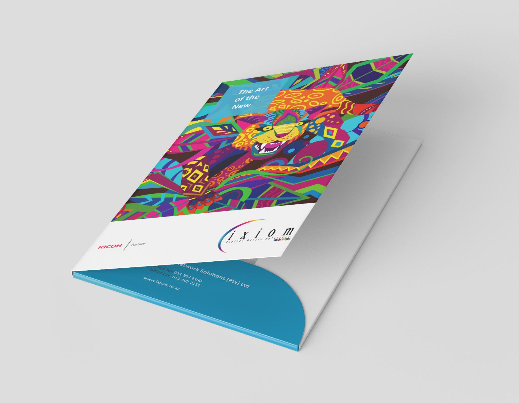 folder mock up