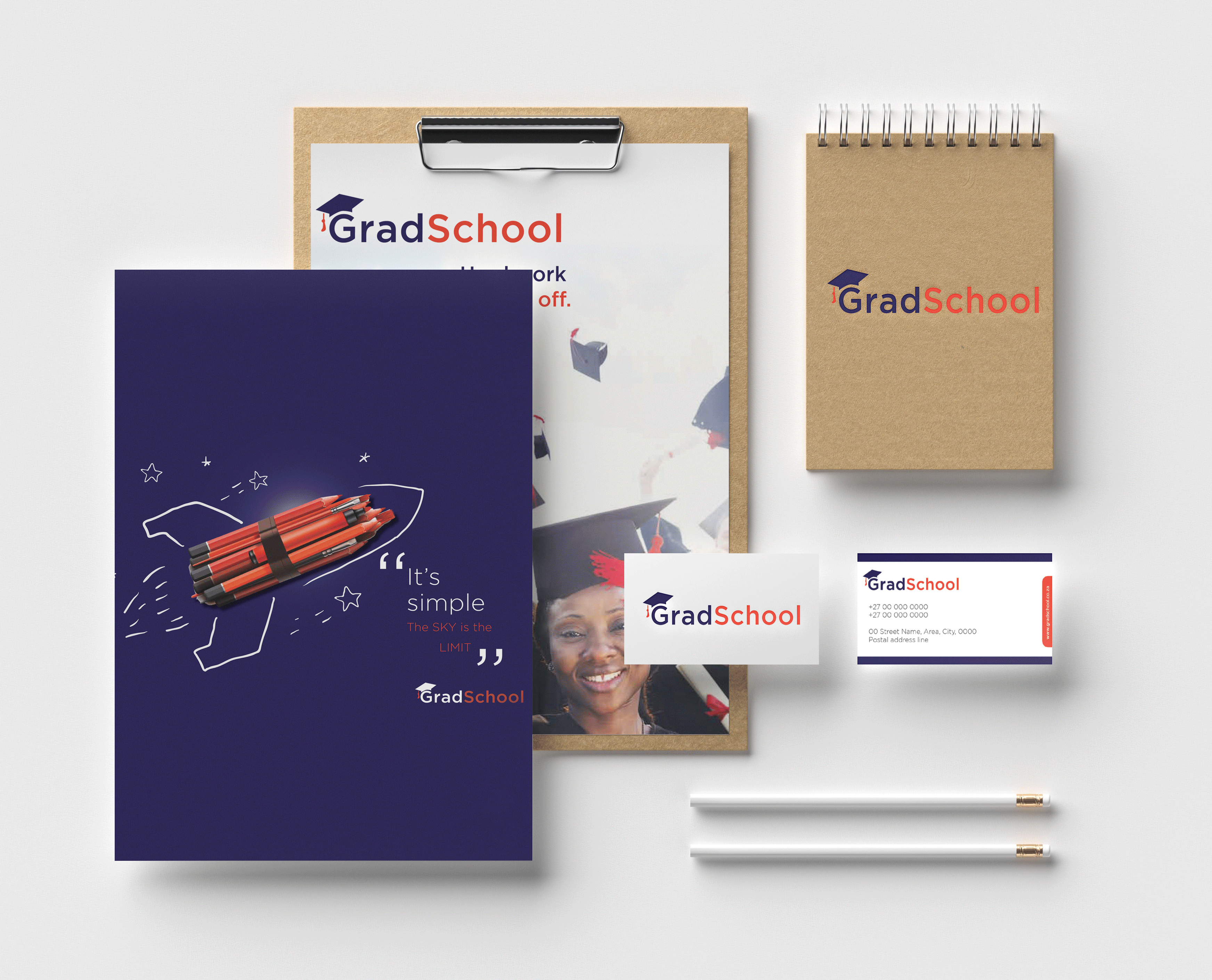 gradschool mock up